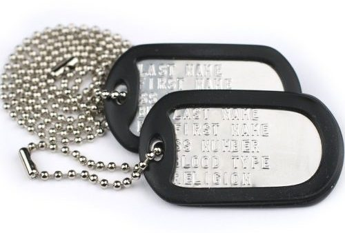 GOTAGS Custom US Military Dog Tag