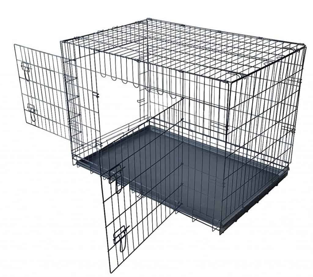 "5. PayLessHere 42"" XXL Dog Crate"