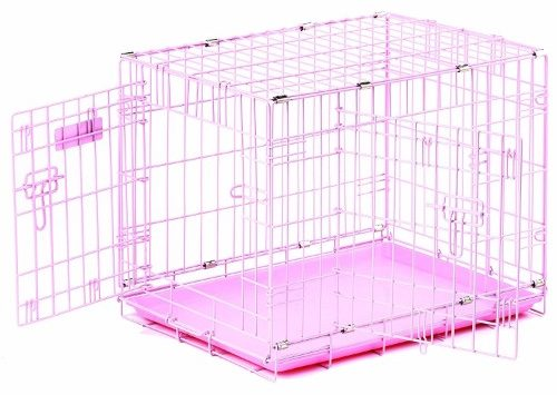 Provalu Pink Dog Crate