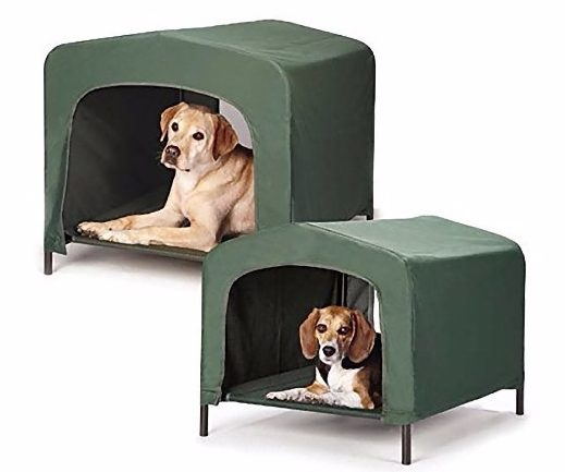 7 - Etna Waterproof Pet Retreat Portable Dog House