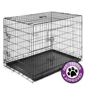 Dog Cage Crate Folding Kennel Pet Puppy Pen