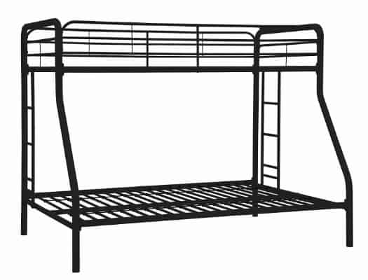 #1 Dorel Home Products Twin-Over-Full Bunk Bed