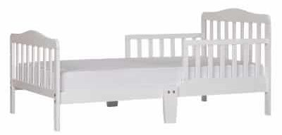 Dream On Me Classic Toddler Bed, White