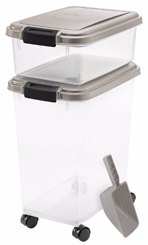 1 - Iris 3-Piece Airtight Pet Food Container