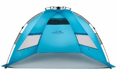 1 - Pacific Breeze Easy Up Beach Tent