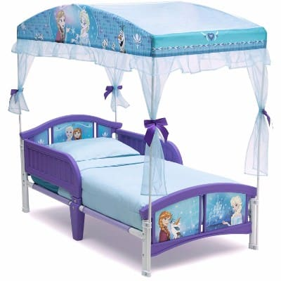#10 Delta Children Canopy Toddler Bed, Disney Frozen