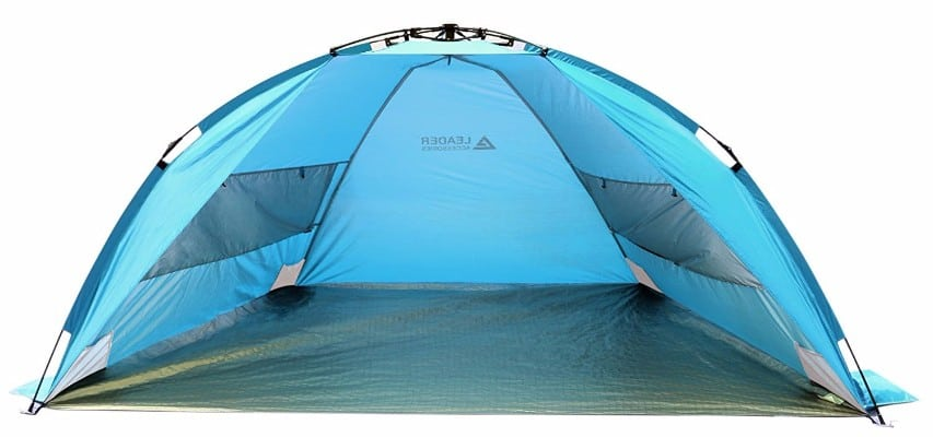 10 - Leader Accessories EasyUp Beach Tent