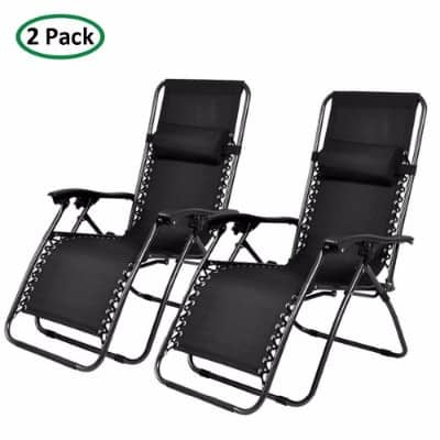 #10 PARTYSAVING Infinity Zero Gravity Outdoor Chair