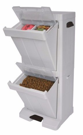 10 - Richell Pet Stuff Tower For Food Storage