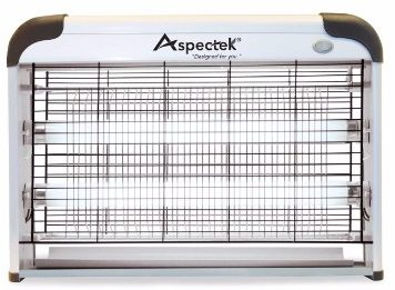 2 - Aspectek 20w 6000sqft Coverage Electronic Indoor Commercial Insect and Mosquito Killer