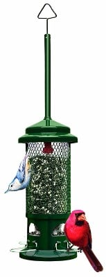 2 - Brome 1057 Squirrel Buster Standard 5x5x21.5 Wild Bird Feeder