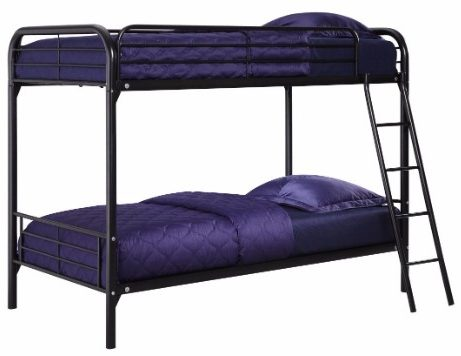 #2 DHP Twin Over Twin, Metal Bunk Bed