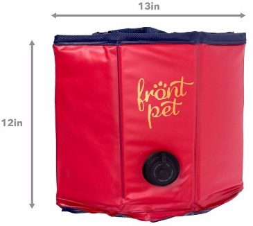 2 - Frontpet Foldable Dog Pet Pool Bathing Tub