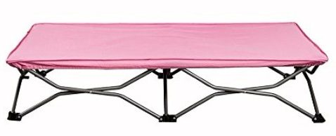 #2 Regalo My Cot Portable Toddler Bed, Pink