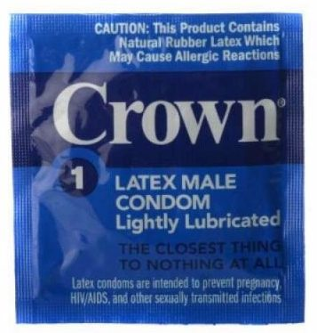 3 - Crown Condoms 100 Pack
