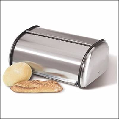 3 - Home-it Stainless Steel Bread Box for Kitchen