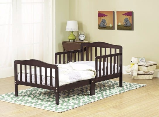#3 Orbelle 3-6T Toddler Bed, Espresso