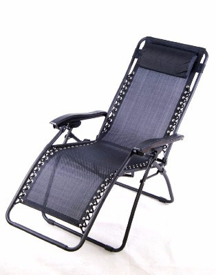 #3 Outsunny Zero Gravity Recliner Lounge Patio Pool Chair