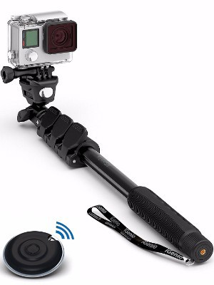 #3 Professional 10-In-1 Monopod Selfie Stick For GoPro Hero, iPhone, Samsung Galaxy, Digital Cameras