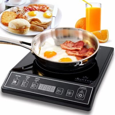 #3 Secura 9100MC 1800W Portable Induction Cooktop Countertop Burner, Black