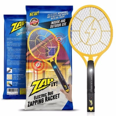 3 - ZAP-IT! Bug Zapper - Rechargeable Mosquito Killing Machine