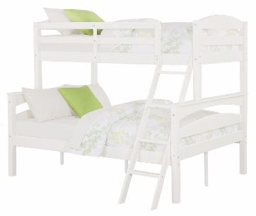 #4 Dorel Living Brady Twin over Full Solid Wood Kid's Bunk Bed