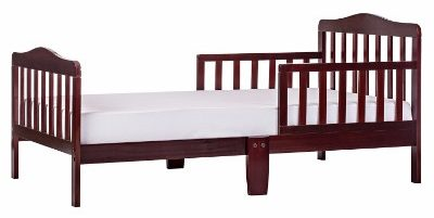 #4 Dream On Me Classic Toddler Bed, Cherry