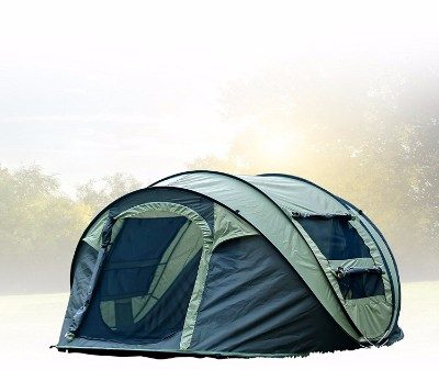 #4 FiveJoy Instant 4-Person Pop Up Dome Tent