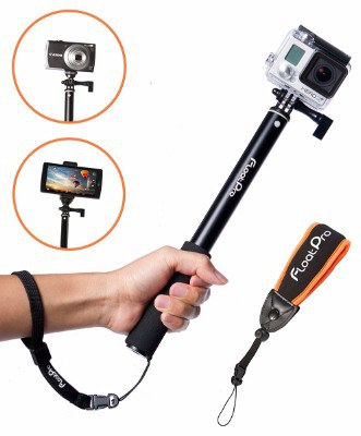 #4 FloatPro Waterproof 3-in-1 Extendable Monopod Selfie Stick