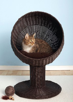 4 - Kitty Ball Rattan Cat Bed