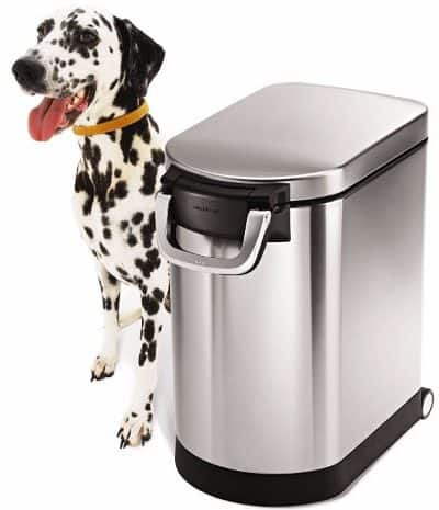 4 - simplehuman Medium Pet Food Storage Can