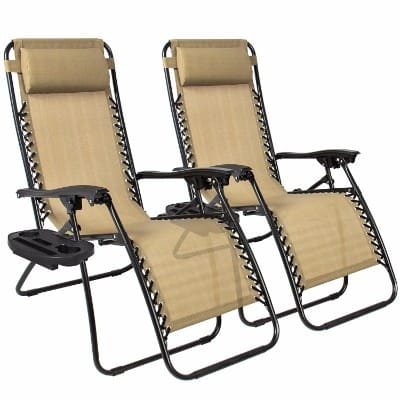 #5 Best Choice Products Zero Gravity Chair