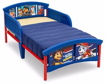 #5 Delta Children Plastic Toddler Bed, Nick Jr. PAW Patrol
