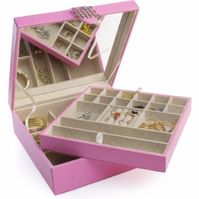 #5 Jewelry Box - 28 Section Classic Jewelry Organizer