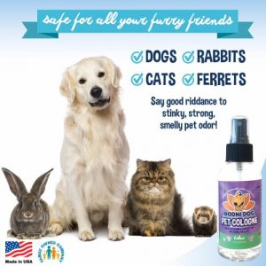 5 - NEW Natural Pet Cologne | Cat & Dog Deodorant and Scented Perfume Body Spray