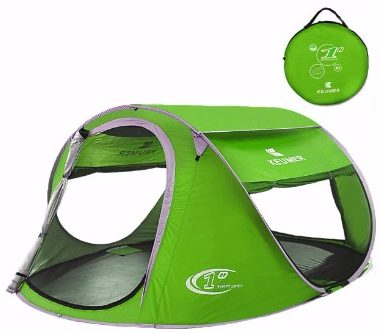 #5 Pop Up Tent Beach Cabana Automatic Instant Setup Water Resistant Ventilation