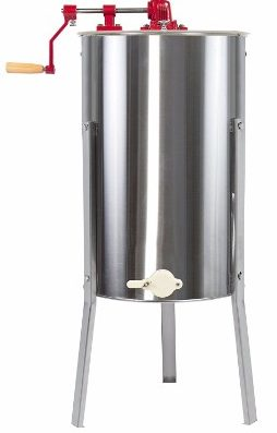 6 - Best Choice Products 2 Frame Stainless Steel Honey Extractor