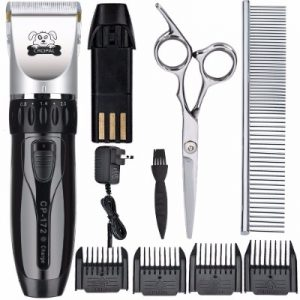 6 - Cropal Pet Grooming Clippers with High Capacity Li-Battery