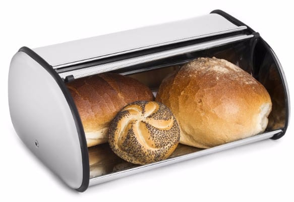 6 - Greenco Stainless Steel Bread Bin Storage Box