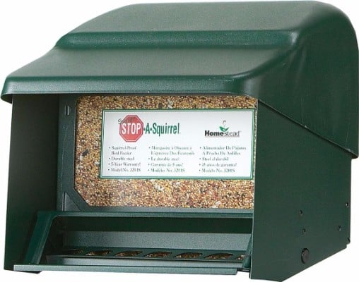 6 - Homestead Super Stop-A-Squirrel Bird Feeder
