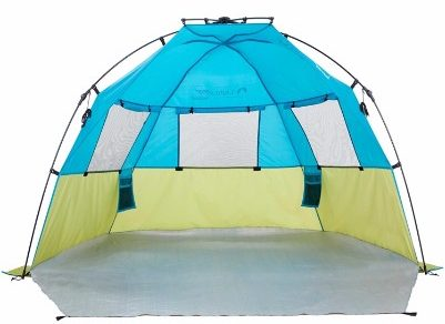 6 - Lightspeed Outdoors Quick Cabana Beach Tent Sun Shelter