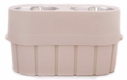 6 - OurPets Store-N-Feed Adjustable Feeder