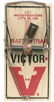 #6. Victor M154 Metal Pedal Mouse Trap