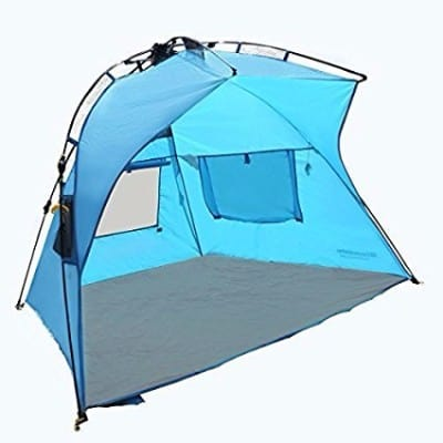 7 - Best Selling EasyGo Shelter - Instant Easy Up Beach Umbrella Tent Sun Sport Shelter