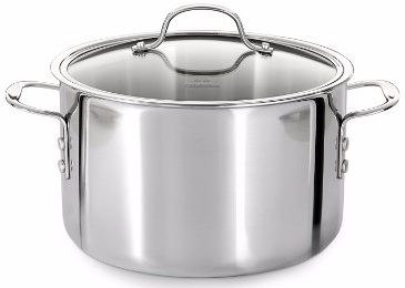 #7 Calphalon Tri-Ply Stainless Steel 8-Quart Stock Pot