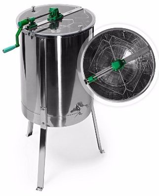 7 - Honey Keeper 4 Four Frame #304 Stainless Steel Honey Extractor