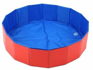 7 - Lalawow SO COOL Foldable Pet Swimming Pool Bathing Tub