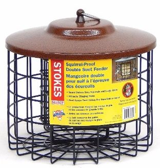 7 - Stokes Select Squirrel Proof Double Suet Bird Feeder
