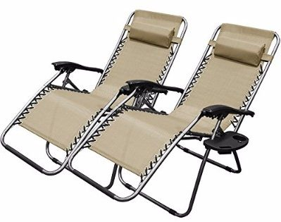 #7 XtremepowerUS Zero Gravity Chair Adjustable Reclining Chair