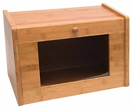 8 - Lipper International 8847 Bamboo Bread Box